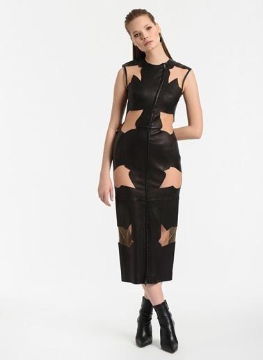 Meltem Özbek Elbise Siyah